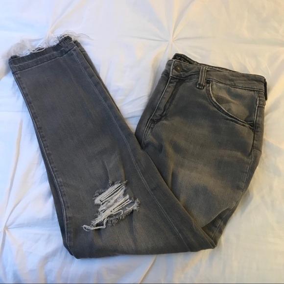 Zara Denim - Women's ripped denim jeans
